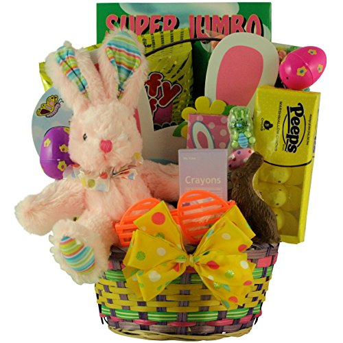 GreatArrivals-Gift-Baskets-Hoppin-Fun-Girl-Childs-Easter-Basket-2-Pound