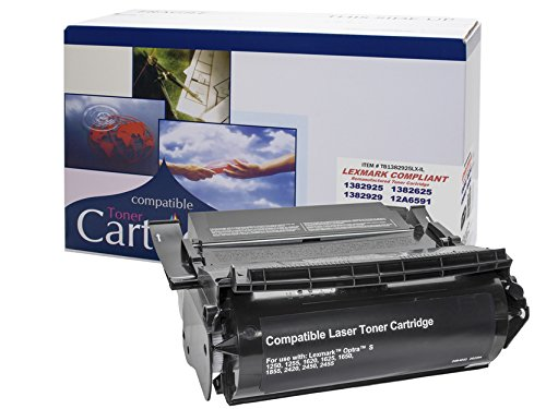 (Remanufactured Toner Cartridge Replacement for LEXMARK 4059-OPTRA S 1250-1255-1620-1625-1650-1855-2420-HY)