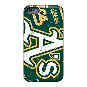 RobAmarook Apple Iphone 6 Plus Scratch Resistant Cell-phone Hard Covers Custom HD Oakland Athletics Pattern [prc922ERKS]