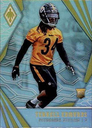 2018 Panini Phoenix  152 Terrell Edmunds Rookie RC Rookie Pittsburgh  Steelers NFL Football Trading Card aa66dcc7b