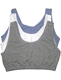 Women's Built-up Sports Bra 3 Pack