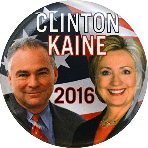 Clinton Kaine Picture Button 2.5