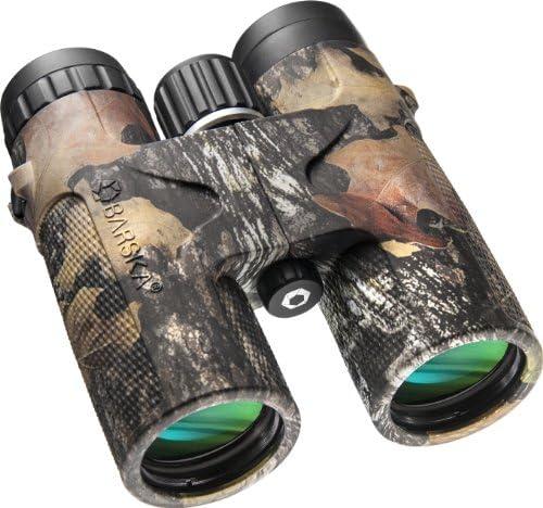 [해외]BARSKA Waterproof Roof Prism Blackhawk Binoculars / Barska 12x42 WP Blackhawk Binoculars in Mossy Oak Break-Up Finish