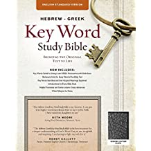 The Hebrew-Greek Key Word Study Bible: ESV Edition, Black Genuine Leather (Key Word Study Bibles)