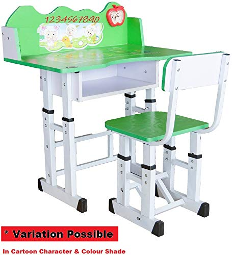 Pleasant Atnine Study Table And Chair Set For Kids Learning Activity Desk Green Evergreenethics Interior Chair Design Evergreenethicsorg