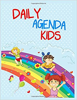 Amazon.com: Daily Agenda Kids: Journal Notebook Lined Pages ...