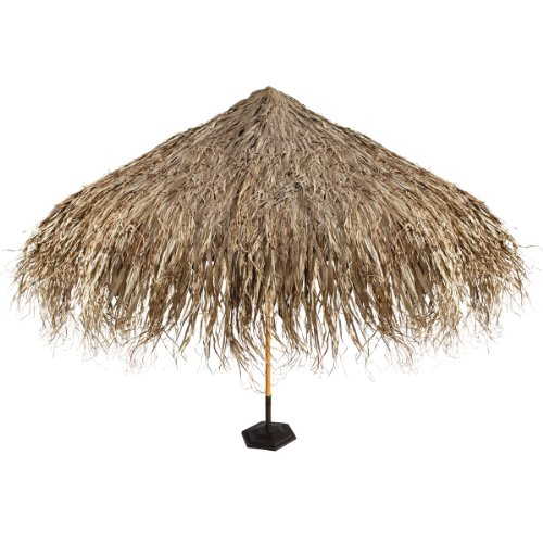 Design Toscano Tropical Thatch Umbrella Cover (Tropical Hut)