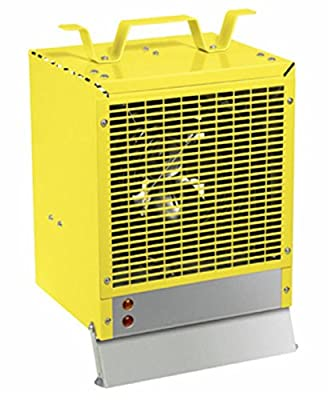 DIMPLEX Fan Forced Space Heater for Work Shop or Garage - Enclosed Motor, Heavy Duty, Industrial or Construction Heater in Yellow Finish - #EMC4240