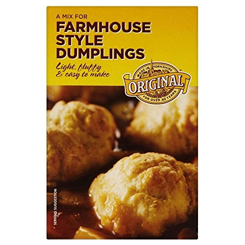 Goldenfry Original Mix for Farmhouse Style Light & Fluffy Dumplings (142g) - Pack of - Farmhouse Chocolate Sweets