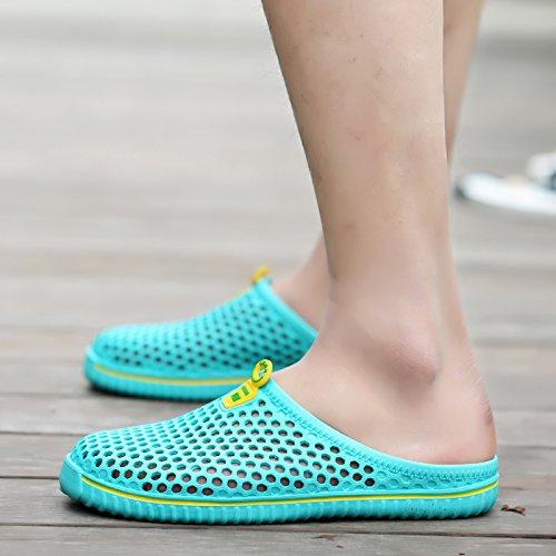 Respirant hommes sandales, chaussures, trou du tennis masculin face, les  chaussures de plage, lazy Bird's Nest chaussons: Amazon.fr: Sports et  Loisirs