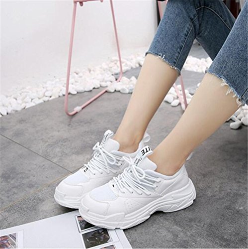 Sport Women's Walking Breathable Shoes Fashion xiaoyang Lightweight White Shoes Casual Sneakers Running Oaq1qw6