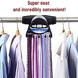 Primode Motorized Tie Rack Closet Organizer with