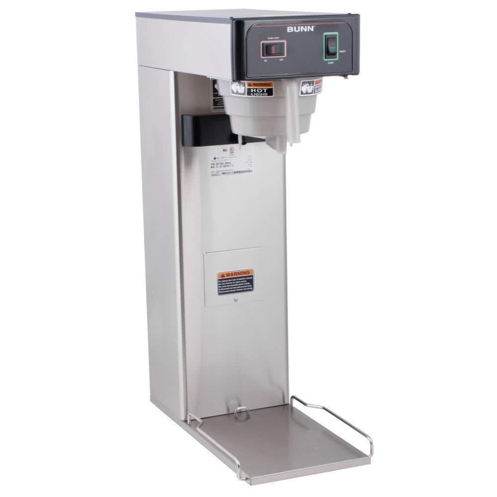 BUNN 36700.000899999999 3 Gallon Iced Tea Brewer, Silver/Black (Renewed) by BUNN