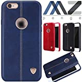NILLKIN Englon Series Inner Soft Lining Leather Back Cover for Apple iPhone 6 (iPhone 6S) -Blue , Leather cover iphone,Leather Back Cover
