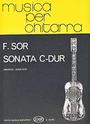 SOR - Sonata Op.22 en Do Mayor para Guitarra Mosoczi/Zaszlavik ...