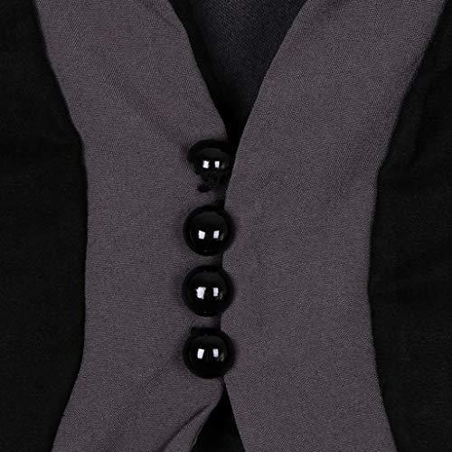 Gonna Vampira Baosity B Medievale Costume Da CosplayCachi2xl Donna Abito Fantasia Nero Vittoriano j54q3RAScL