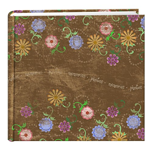 Flower Photo Album (Pioneer Photo Albums 200 Pocket Printed Aged Floral Design Photo Album for 4 by 6-Inch Prints)