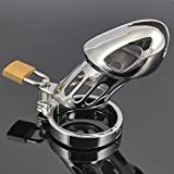 LOCK FOR MEN Happygo, Stainless steel Male Metal Chastity Device,Cock Cages,Virginity Lock,Penis Ring/Lock,Adult Games,Sex Toys,919
