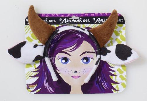 Forum Novelties Playful Animals Cow Costume Accessory Set (Halloween Cow Ears)