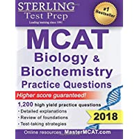 Sterling Test Prep MCAT Biology & Biochemistry Practice Questions: High Yield MCAT Questions