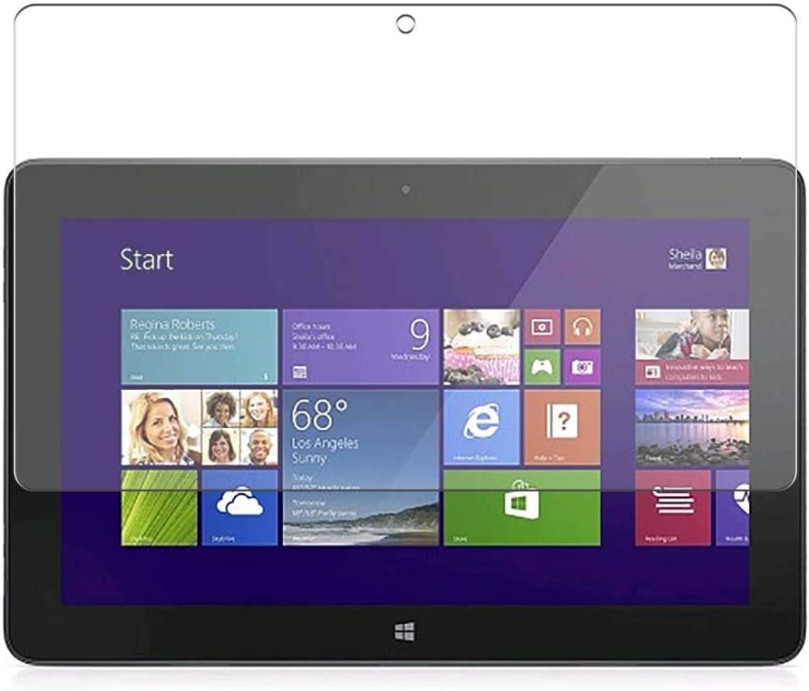 Puccy 3 Pack Screen Protector Film, compatible with Dell Venue 11 7000 (7130 Pro / 7139 Pro) 10.8