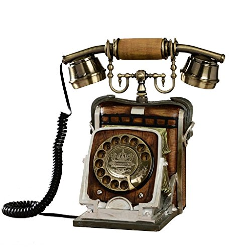 FACAIG Telephone coffee color of the resin portable for sale  Delivered anywhere in USA