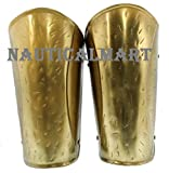 Mens Brass Medieval Spartan Arm Guards One Size Fits Most By Nauticalmart