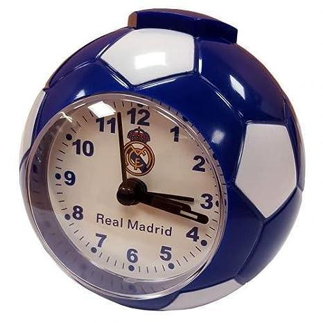 Real Madrid FC Fútbol club alarma reloj regalo de cumpleaños ...