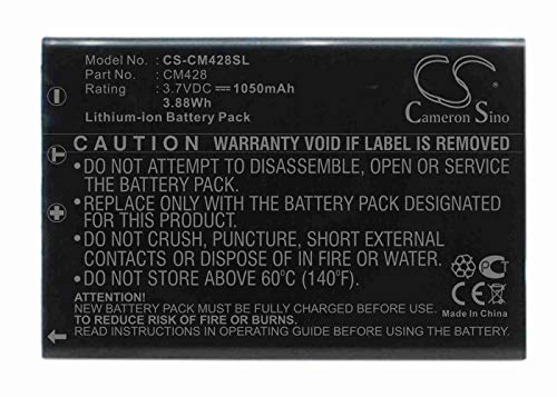 VINTRONS, Replacement Battery for Creative Divi CAM 428 Portable MP3 ()
