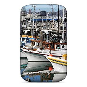 Perfect Fisherman's Wharf Case Cover Skin For Galaxy S3 Phone Case