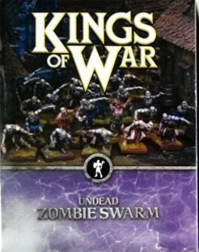 40 Undead Zombie Swarm by Mantic Games