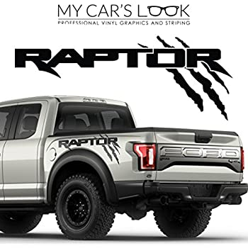 Ford Raptor 2017 Exterior Graphics Kit Decal Sticker Automotive