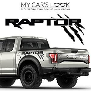 Amazon Com Ford Raptor 2017 Exterior Graphics Kit Decal Sticker