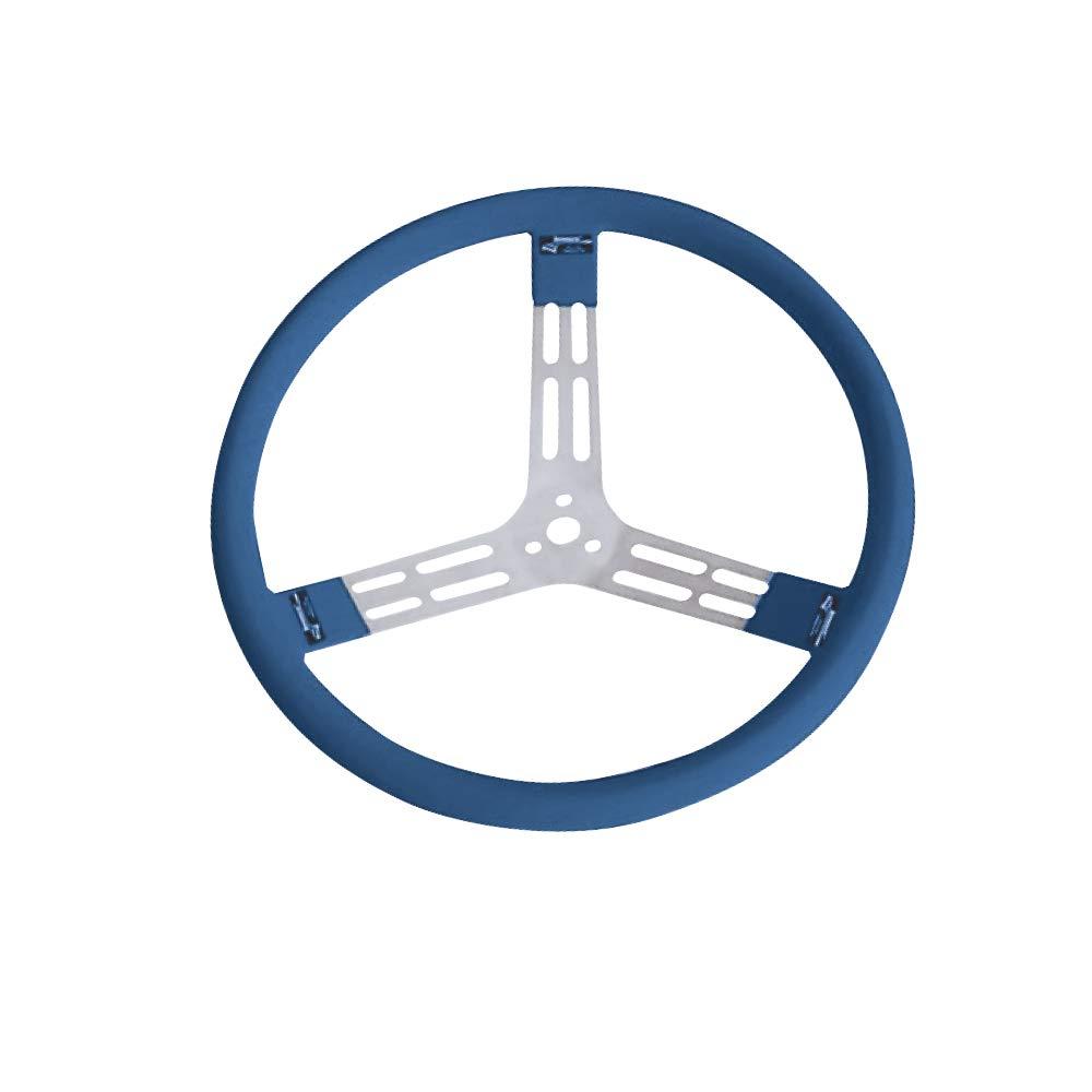 Longacre Racing 52-56803 15IN ALU Blue Steering Whee