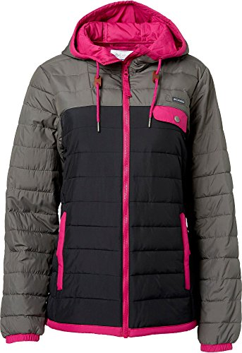 Price comparison product image Columbia Women's Mountainside Full Zip Insulated Jacket (Black, L)