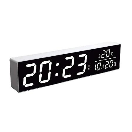 Liangzishop Función Snooze Luz de Noche Mute Reloj Despertador ...