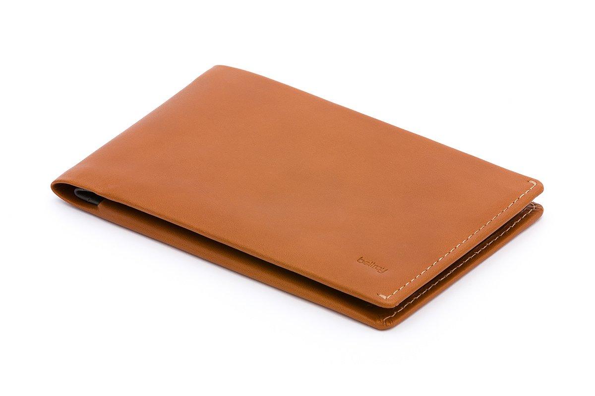 Bellroy Leather Travel Wallet Caramel - RFID