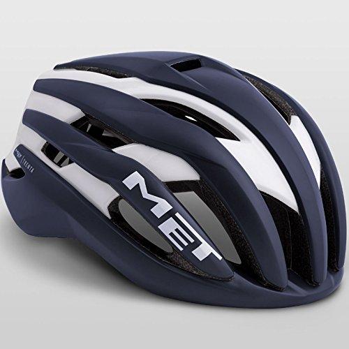メット トレンタ ディープブルーホワイト ヘルメット L(58/61㎝)   B07FTGHKJK