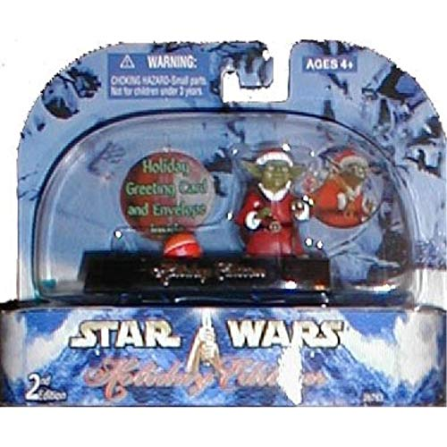 Holiday Edition Yoda 3 Brian/'s Toys 076930267639 Star Wars