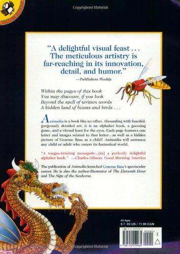 Animalia (Picture Puffins): Amazon.de: Graeme Base: Fremdsprachige ...