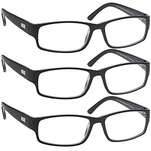 Reading Glasses 3x Men n Women Flex Readers 1.25