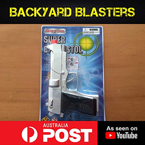 Backyard Blasters Metal Die-Cast Toy Cap Gun - Beretta ()