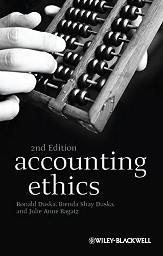 accountin ethic The following teaching cases were developed by members of the centre for accounting ethics these cases are available to and may be reproduced for use in canadian classrooms funding for.