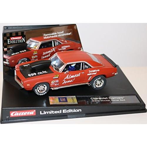 25788 Carrera Evolution - Chevrolet Camaro Super Stocker Primer Red - Limited Edition. 1:32