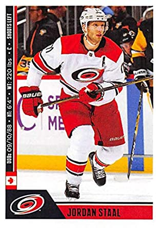 2018-19 Panini NHL Stickers Collection  53 Jordan Staal Carolina Hurricanes  Official Hockey Sticker 99b88df7c