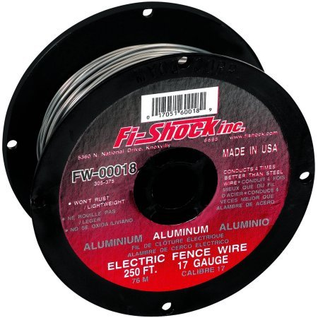 Fi-Shock Electric Fence Wire 250 ' Aluminum (Fi Wire Aluminum Shock)