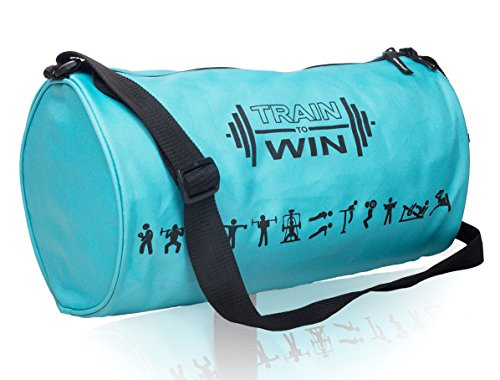 Cosmus Fitwell 23Litres APC Blue Gym Bag