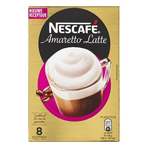 Nescafe | Café instantáneo | Latte Amaretto | 8 palos por paquete 140gr/4.94oz: Amazon.es: Alimentación y bebidas