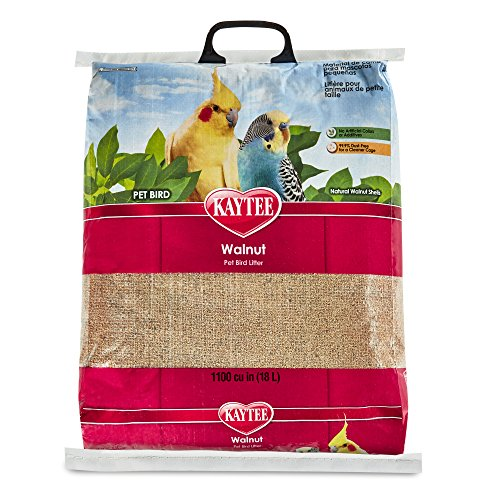 (Kaytee Walnut Bedding and Litter Pad for Pets, 25-Pound)