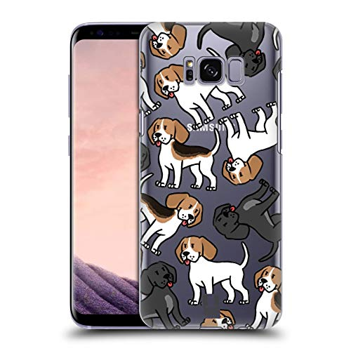 Head Case Designs Treeing Walker Coonhounds Dog Breed Patterns 15 Hard Back Case for Samsung Galaxy ()